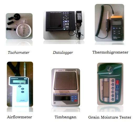 Beberapa Peralatan di Laboratorium Uji Alat Dan Mesin Pascapanen